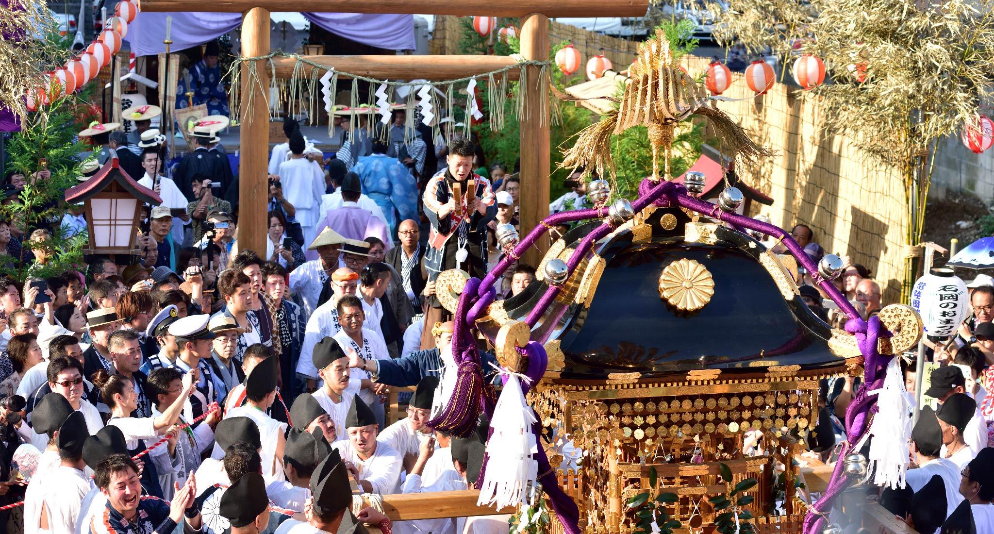 土曜日十六時 仮殿鎮座祭